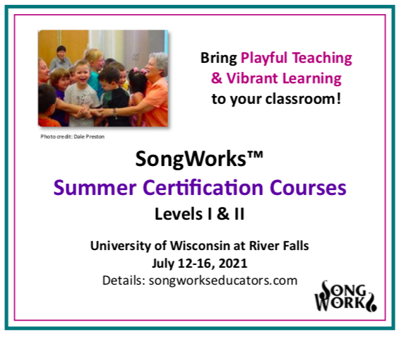 SongWorks Certification Summer Courses