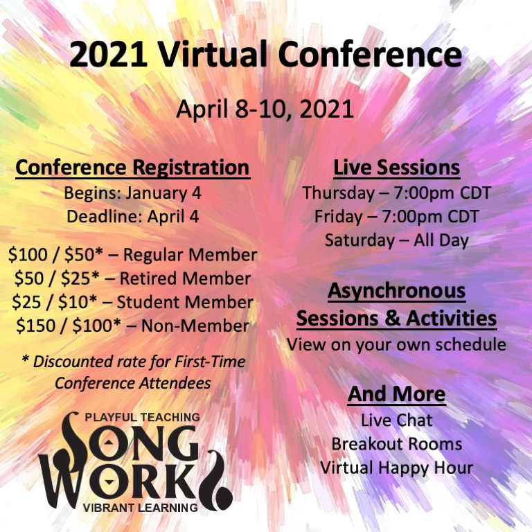 2021 Virtual Conference Flyer