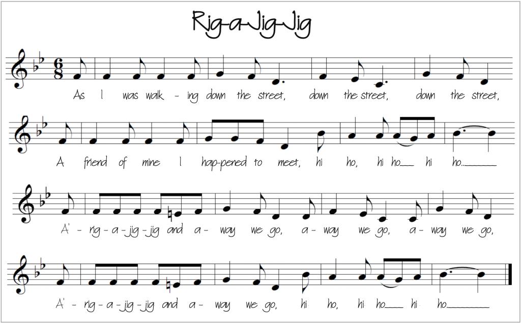 Rig-a-Jig-Jig Score