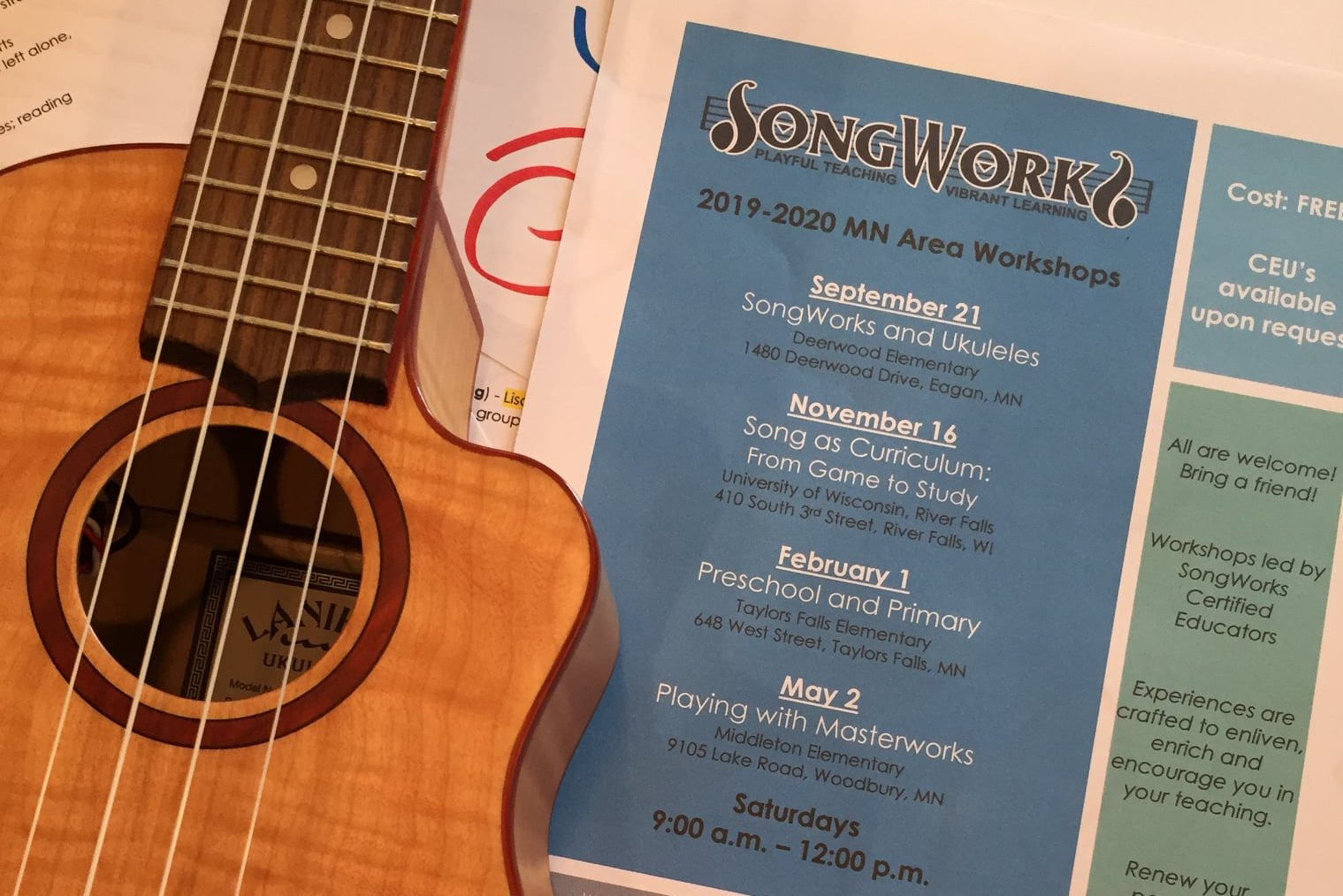 SongWorks in Practice Sessions